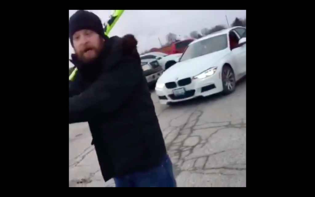 Family Attacked by Racist Man with Baseball Bat