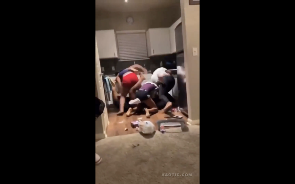 FIGHT: Things Get Physical at House Party
