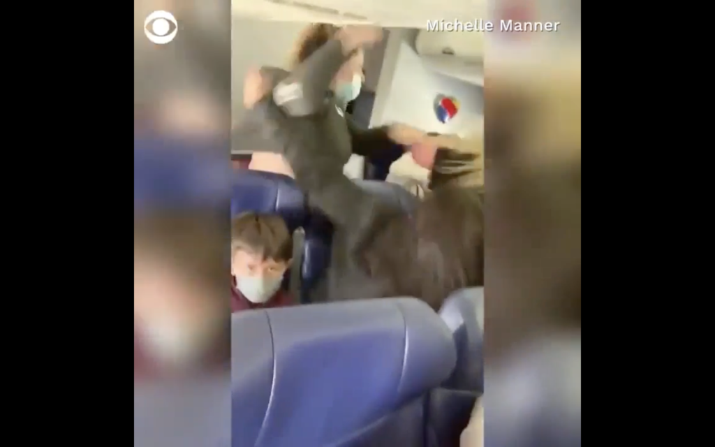 Passenger Punches Flight Attendant After Being Asked to Wear a Mask