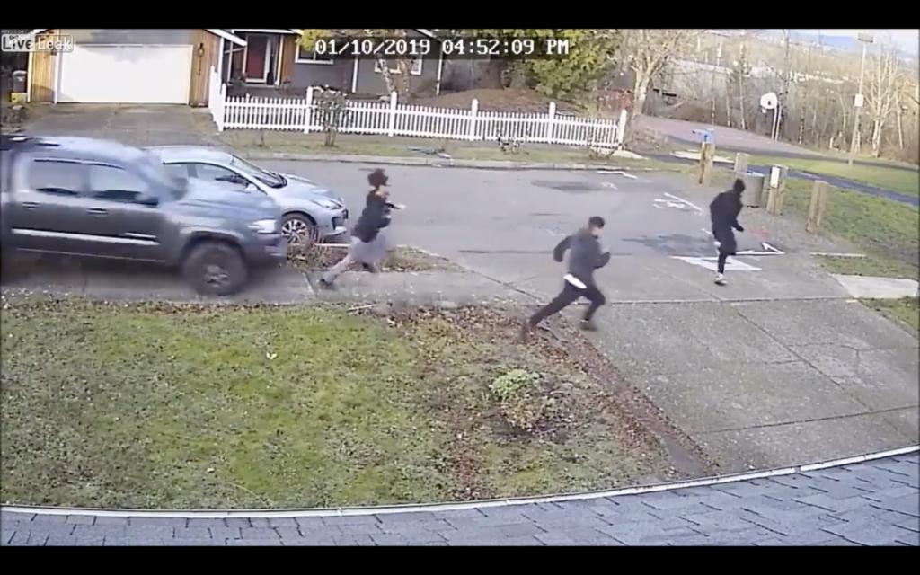CCTV: Truck Driver Seen Running Over Group of Boys