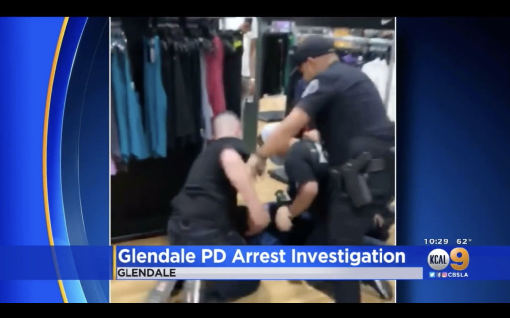 4 Police Officers Brutally Assault Unarmed Teen While Arresting Him